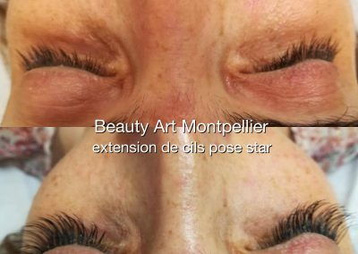 Extension de cils montpellier, volume Russe (6)