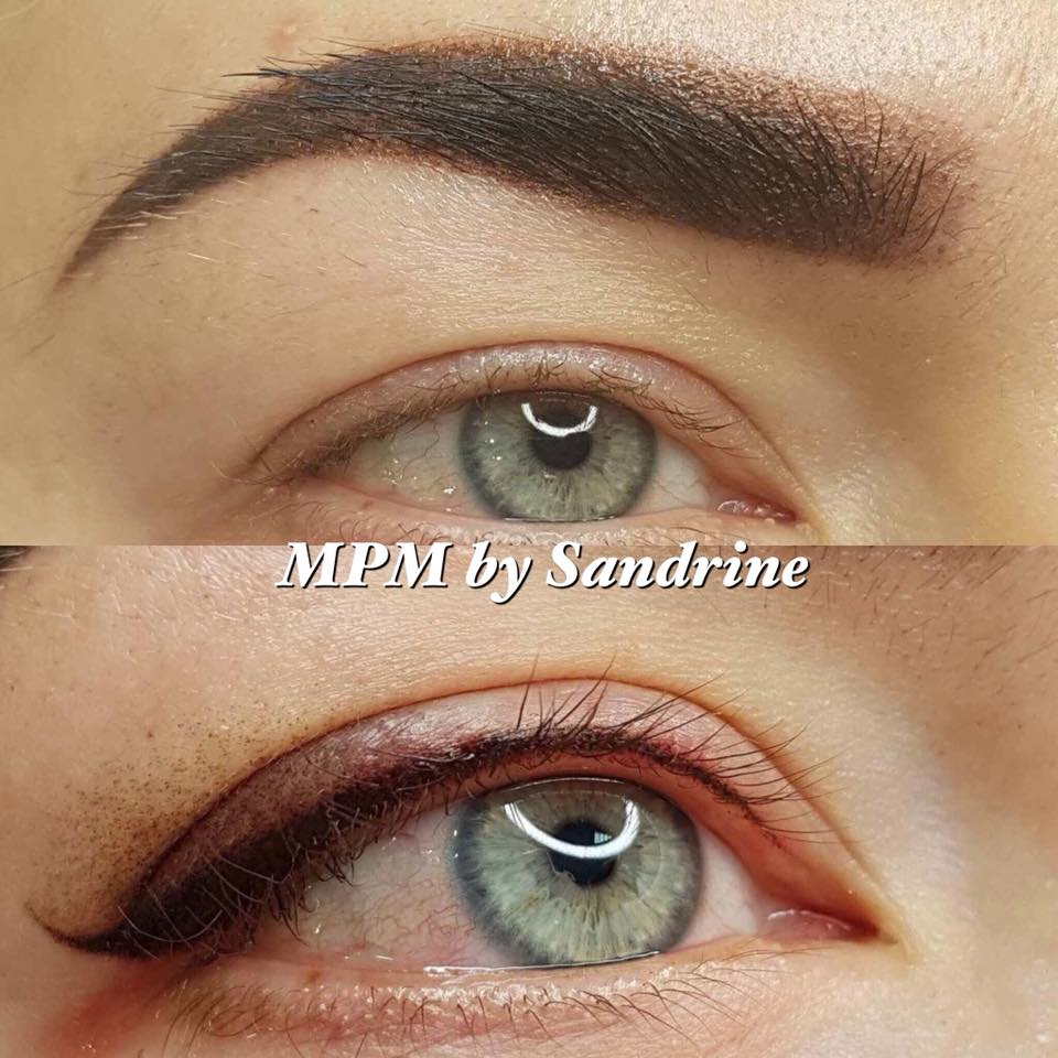 Maquillage Permanent Sourcils et eye-liner poudré Montpellier