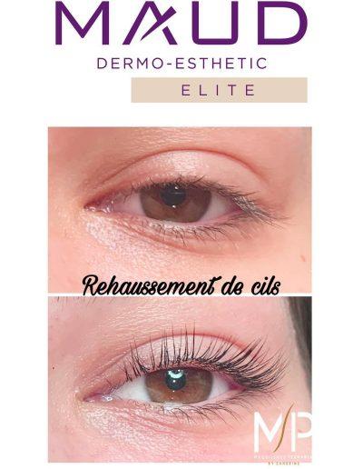 Rehaussement de cils Montpellier centre ville Écusson - Maquillage Permanent by Sandrine