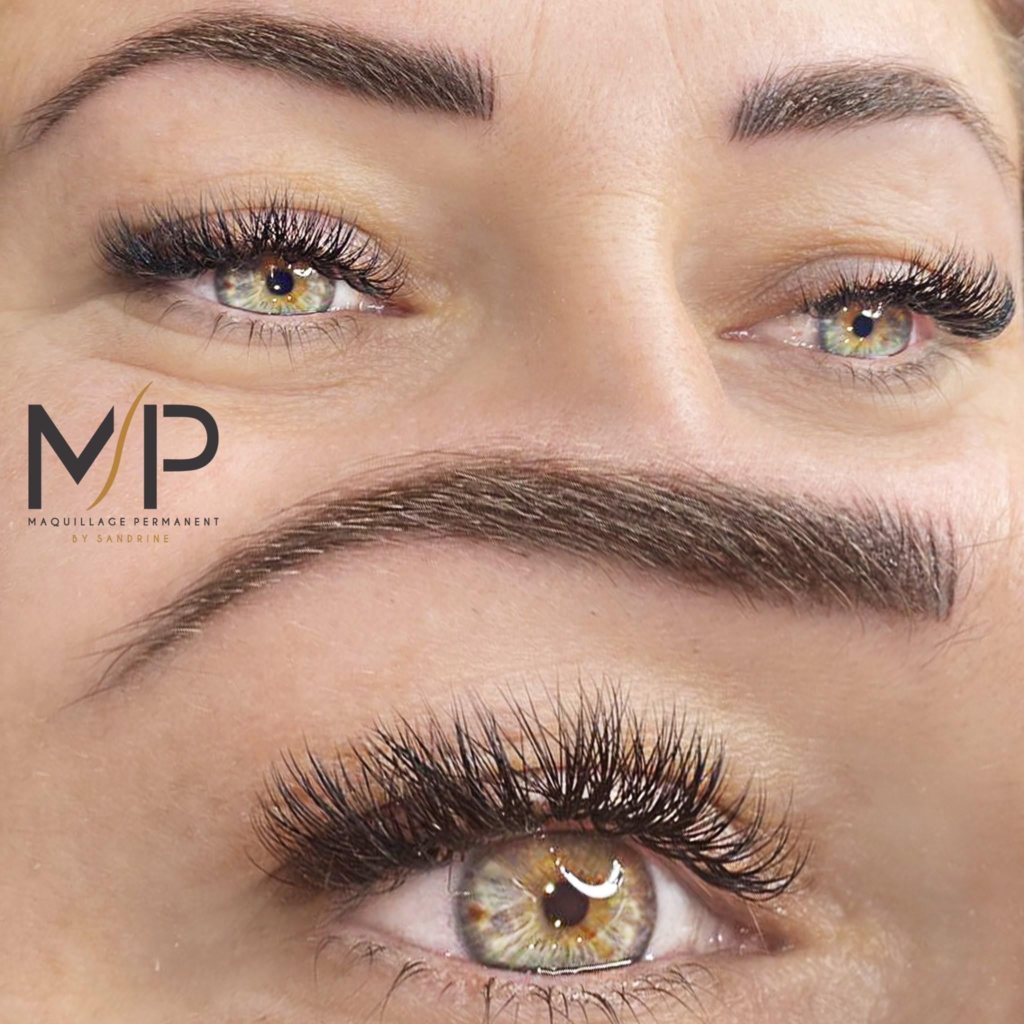 Extension de cils à Montpellier - Maquillage permanent by Sandrine