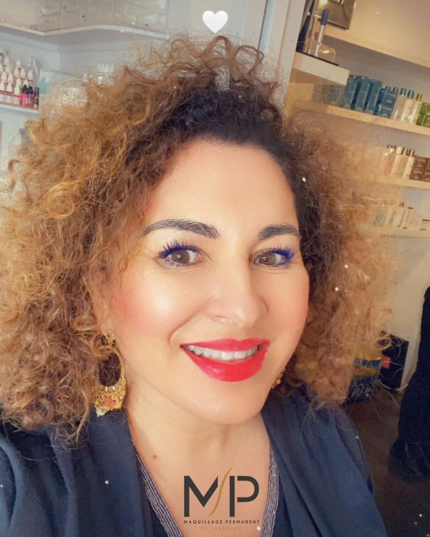 Formation en cours particulier de maquillage permanent à Montpellier - Maud Elite Sandrine Nourry