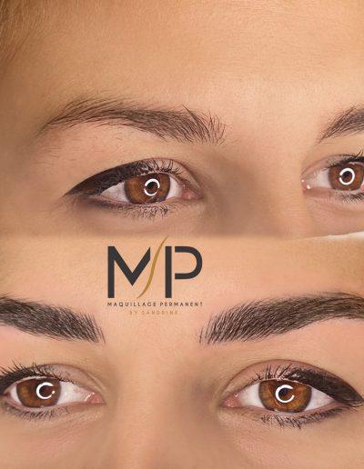 Maquillage Permanent Sourcil by Sandrine à Montpellier - Maud Elite et Artiste Sviatoslav