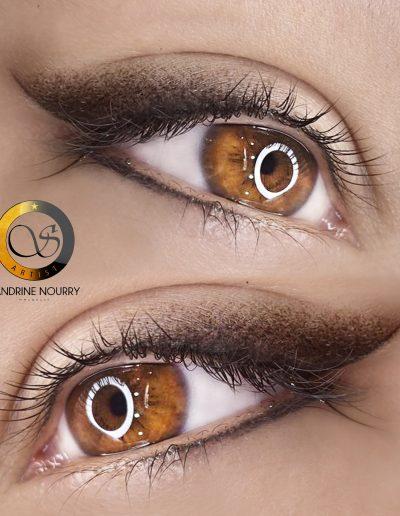 Maquillage Permanent Yeux Eye Liner by Sandrine à Montpellier - Maud Elite et Artiste Sviatoslav