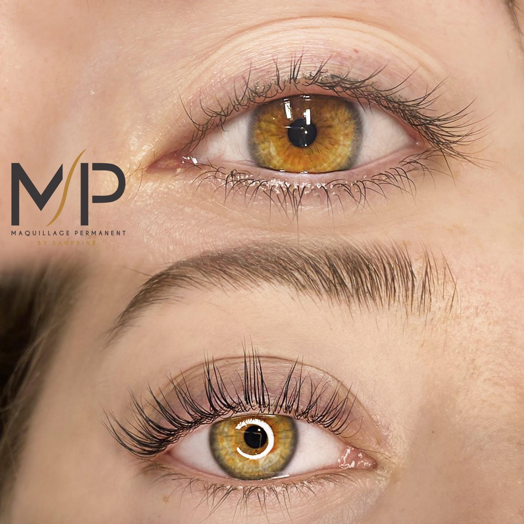 Réhaussement de cils à Montpellier - Maquillage permanent by Sandrine